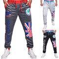 new arrivals fashion men sweatpants drawstring elastic waist loose man  pants 3 colors M L XL XXL JP8768