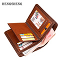 2016 Men New Fashion Short Wallets Multifunction PU Leather Wallet Male Purses Male Designer Brand Coins Pouch Pocket Wallets