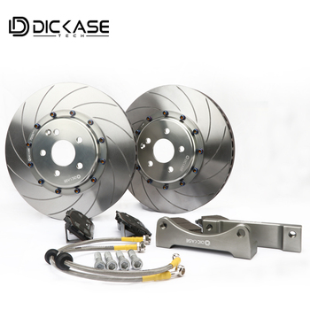 high quality brake kit with 330/355/362/380 discs with center cap for bmw