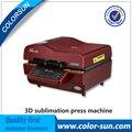 Горячие Продажи 3D Многофункциональный Сублимация вакуумный для телефонных случаях чашку плиты плитки печати с 110 В или 220 В