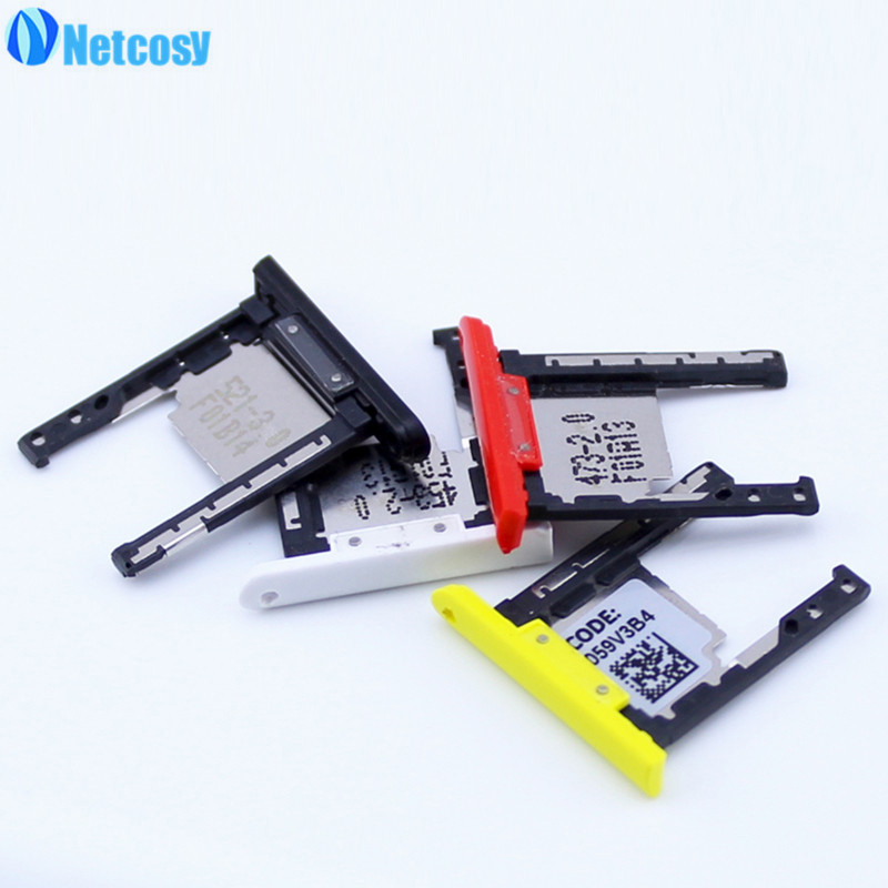 Netcosy SD Card Tray Slot Holder for Nokia Lumia 1520 Replacement Parts Repair Part High Quality Cheap Phones Accessories