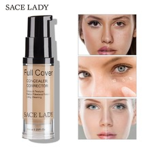 SACE LADY Full Cover Face Liquid Concealer Makeup Eye Dark C