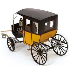 Wooden Cart Model Kit Diy
