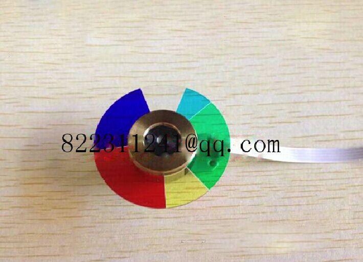 Tüketici Elektroniği'ten Projektör Aksesuarları'de YENI için Orijinal Projektör Renk Tekerleği Optoma DP234 Projektör Renk Tekerleği title=