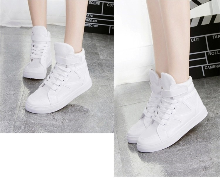 LOVE Fashion High Top Casual Shoes For Women Canvas Shoes 2015 New Autumn Ankle Boots Breathable Ladies Shoes Student Flats YD28 (20)
