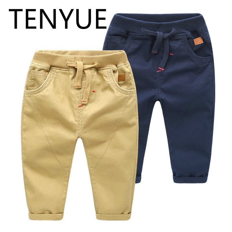 TENYUE, 2018 Autumn Clothes, Spring and Autumn Children's Clothing, Baby,3, 1, Boys, Pants, Trousers недорго, оригинальная цена