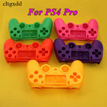 cltgxdd Hard Plastic Upper Housing Shell Case Cover For Playstation 4 Pro PS4 Dualshock Controller
