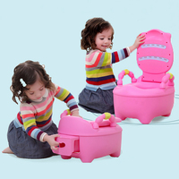 Children Travel Toilet Seat Portable Children Urinal Baby Cute Potty Child Cushion Kids Multi Functions Training Toilet Seat