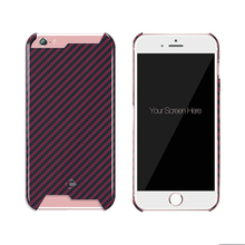 Ultra Thin Armor coating carbon fiber Matte Polishing Half a pack Shell For iPhone 6 Plus 6s Plus Phone Cover Case Housings
