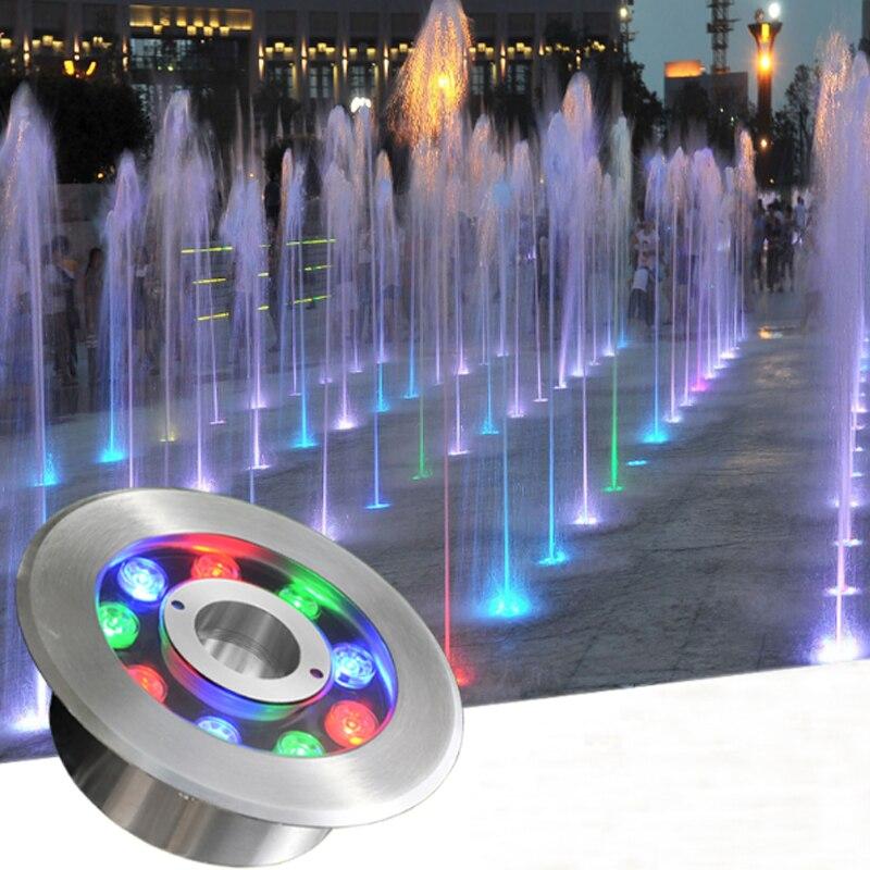Lights & Lighting Candid Led Fountain Light 6/9/12/18w Pool Light Ac12v/24v Outdoor Stainless Underwater Light Waterproof Ip68 Landscape Lighting Lamp