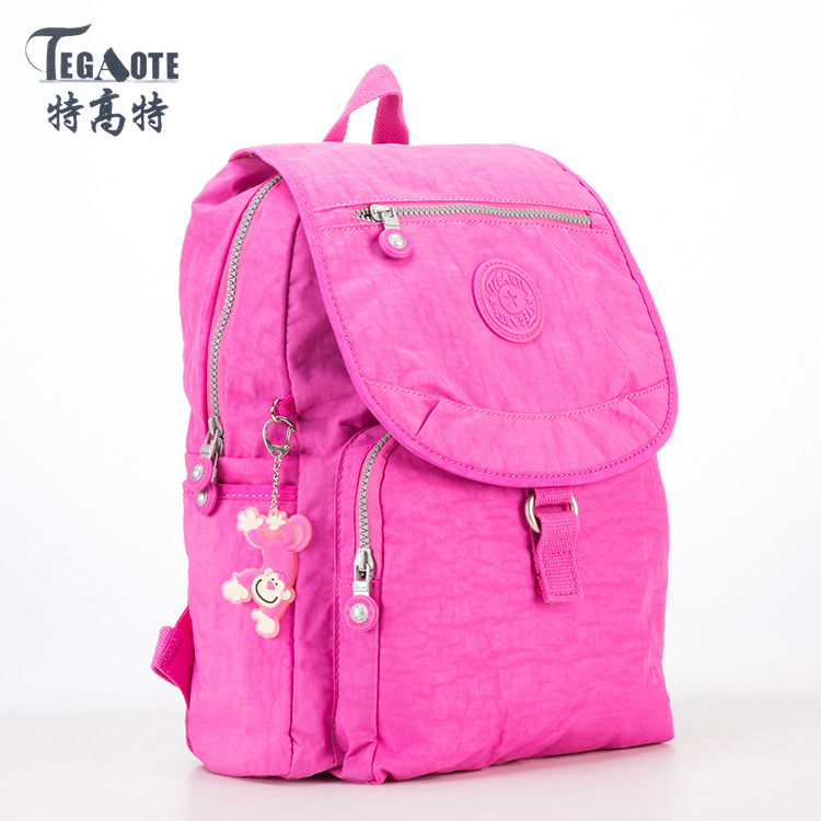 TEGAOTE Small Backpack for Teenage Girls Mochila Feminine Backpacks Female Solid Famous Casual Women Travel Bagpack Sac A Dos women backpack mochila backpack for travel sac a dos korean style backpacks for teenage girls high quality bag gift for new year