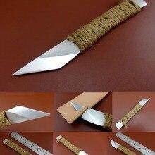 1 шт., кожаный инструмент, швейцарская сталь, угловая прямая головка, Skiver, Обрезной нож, инструмент для шитья, стежка, резьба, штамп, пробойник, долото