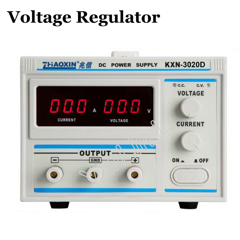 Voltage Regulator/Stabilizer 30V 20A DC Power Supply High Precision Digital Display Power Supply KXN-3020D 1200w wanptek kps3040d high precision adjustable display dc power supply 0 30v 0 40a high power switching power supply