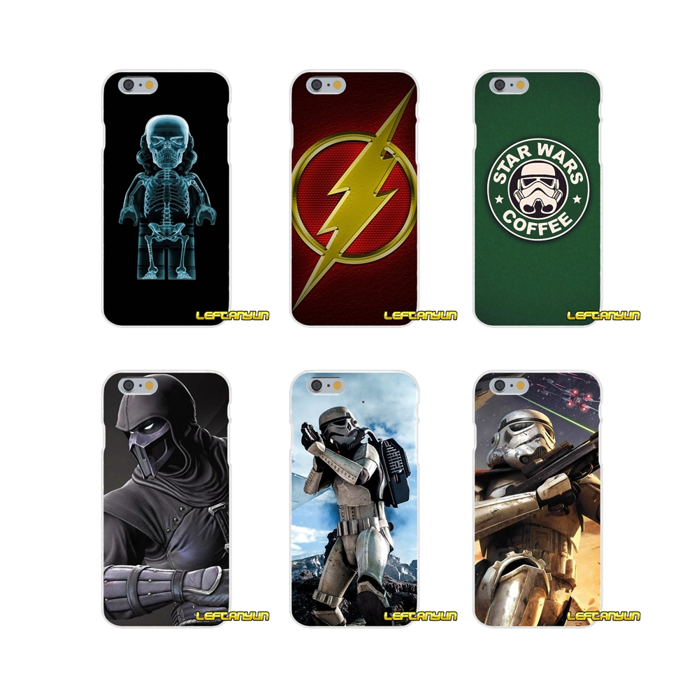 Star wars battlefront galactic Slim Silicone phone Case For iPhone X 4 4S 5 5S 5C SE 6 6S 7 8 Plus