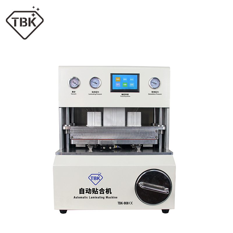 TBK 908 DebubblerLCD Touch Screen Vacuum Automatic Airbag Laminating Machine Curved Touch Screen Repair Euipment Factory Selling