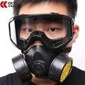 CK Tech Угольный Фильтр Маски Силиконовые Многофункциональный Респиратор Противогаз Краска Распыления Пестицидов Промышленной Безопасности Защитите Mask 1010