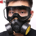 CK Tech Filtro De Carbón Máscara de Silicona Multifunción Pesticidas de Pulverización de Pintura Respirador Máscara de Gas Industrial de Seguridad Protect Mask 1010