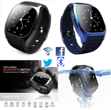 Bluetooth smart watch sport m26 smartwatch sync anrufe anti-verlorene für iphone und android phone smartphones intelligente elektronik