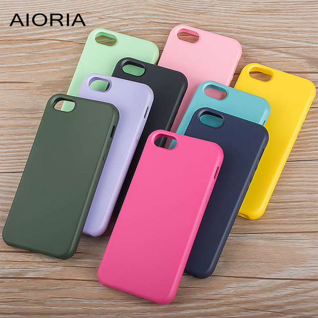 AIORIA Matte case for iPhone 5 5S SE silicone TPU material