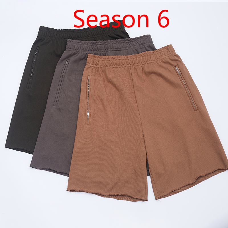 Season 6 KANYE WEST Shorts Men Women Streetwear Xxxtentacion Summer Shorts Harajuku Shorts Season 6  Hip Hop Shorts