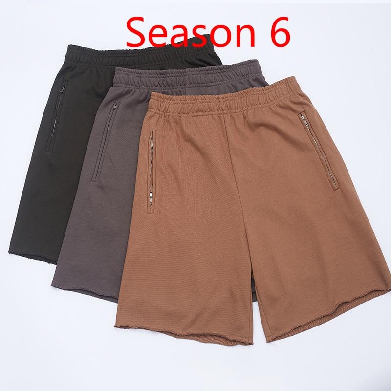 Season 6 KANYE WEST Shorts Men Women Streetwear Xxxtentacion Summer Shorts Harajuku Shorts Season 6  Hip Hop Shorts