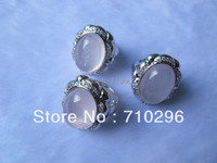Fashion Jewellry Genuine 925 Solid Sterling Silver Rings Charming 65 CT Rhodium Plated Gem Stone Silver