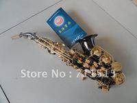 Синхай Малый высоких тенор B сопрано B плоский черный Никель позолоченные золотые ключи ручной работы с мундштуком