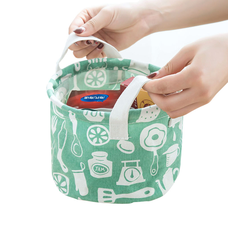 Cute Animal Collapsible Toy Storage Organizer Folding: XZJJA Cute Animal Cotton Linen Sundries Toys Storage Box