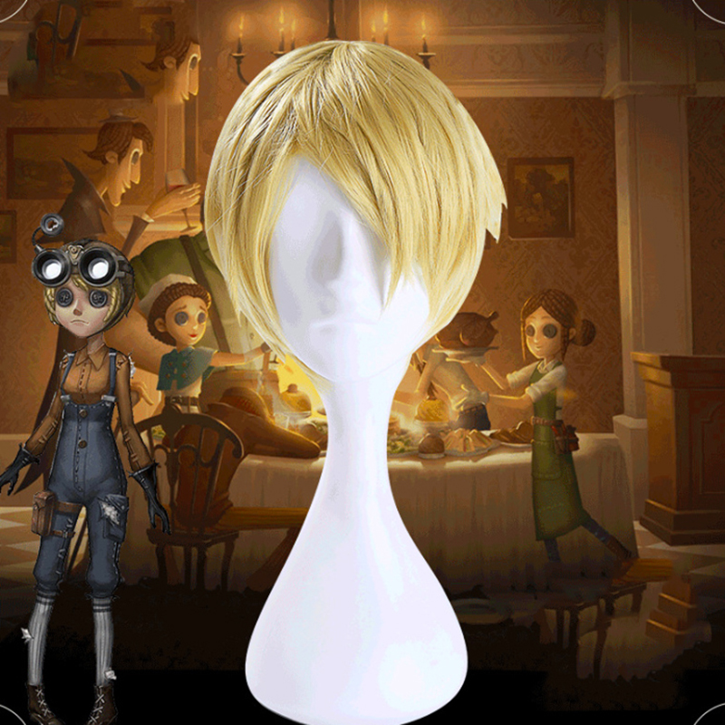Game Identity V Cosplay Wig Mechanic Tracy Reznik Cosplay Wig Heat Resistant Synthetic Wig Halloween Carnival Party