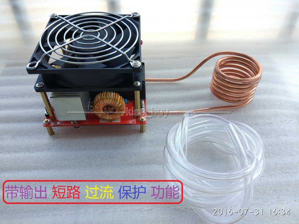 DC 24 36V 20A Diy ZVS induction heating board Flyback driver heater ...