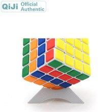 QiJi 4x4x4 Magic Cube QJ 4x4 Cubo Magico Professional Neo Speed Cube Puzzle Antistress Fidget Educational Toys For Children 0988 qj