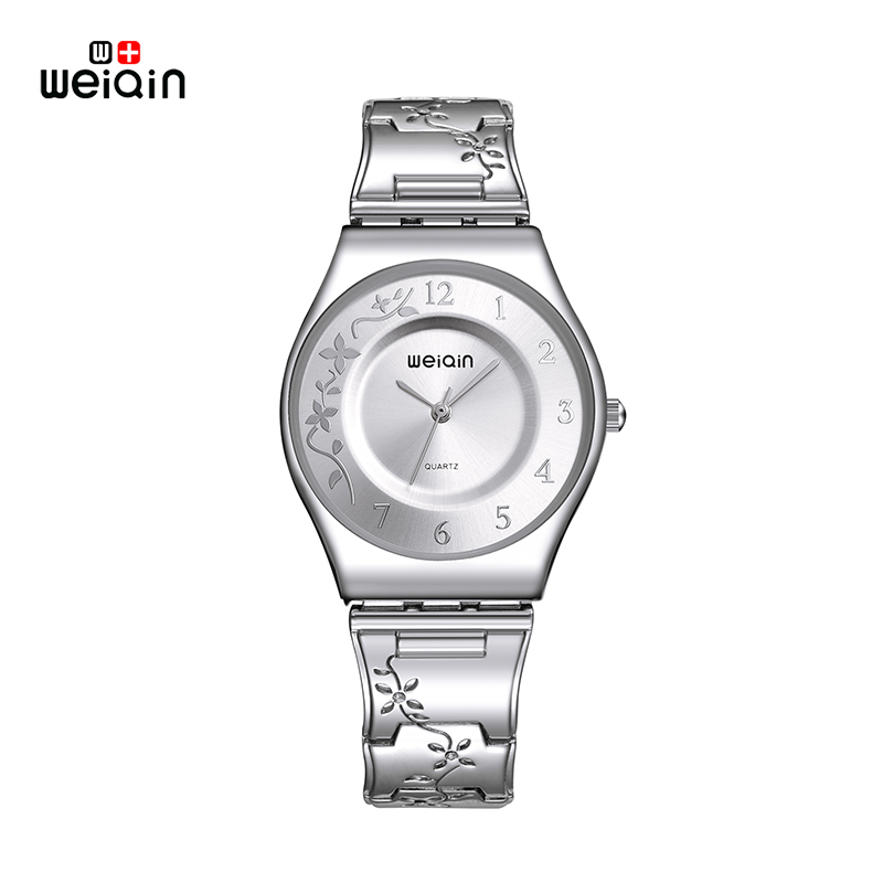 WEIQIN brand Women Watches Luxury High Quality Water Resistant Montre Femme Stainless Steel 2017 Dress Woman