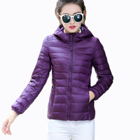 Autumn Spring Women Jackets Plus 5XL 6XL Ladies Slim Hooded Overcoat Long Sleeve Lightweight Ultra thin Short Style Female Coats