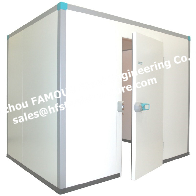 Pu Insulated Sandwich Panel For Walk-in Refrigeration Units