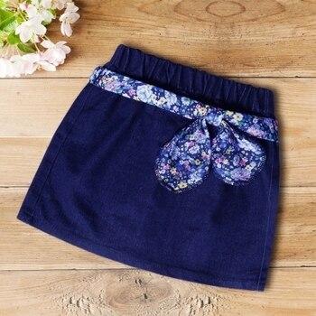 1-11y baby female children denim skirt spring &summer elastic waist girls skirts rok Jupes filles fashion Ropa de chicas