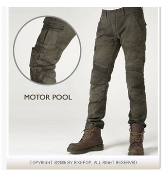 uglybros MOTORPOOL UBS06 jeans men army green black motorcycle jeans moto jeans riding pants spodnie motocyklowe