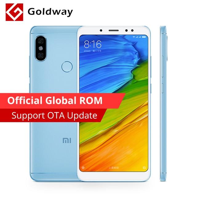 """Оригинальный Xiaomi Redmi Note 5 4 Гб 64 Смартфон Snapdragon 636 Octa Core 18:9 """"5,99 полный экран 12MP + 5MP AI камера 4000 мАч"""