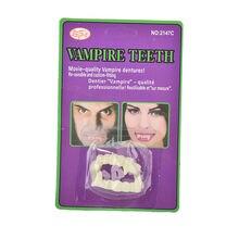 Вампира prop маскарад светятся темноте зубы хэллоуин поддельные световой косплей макияж