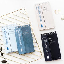BLINGIRD A portable learning language book Students learn English Memorandum School Office Stationery pocket notebook