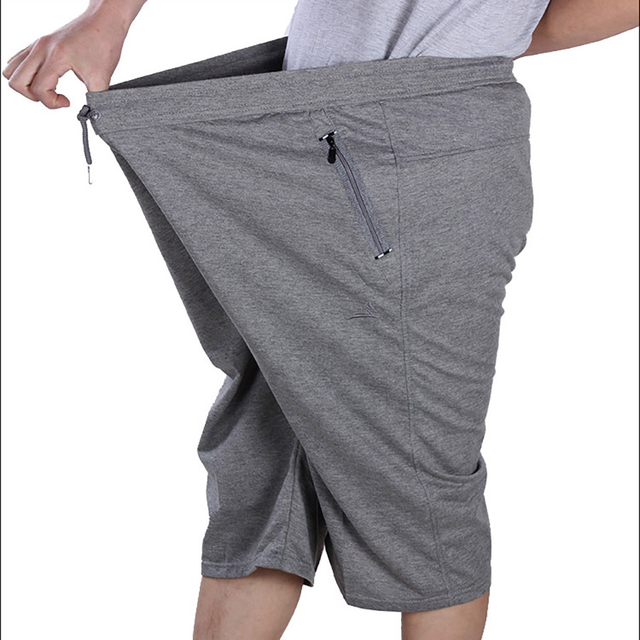 Men Summer Casual Short Elastic Waist Loose Mens Shorts Long Summer Plus Size Casual Joggers Bermuda Hombre Sweatpants 6d030