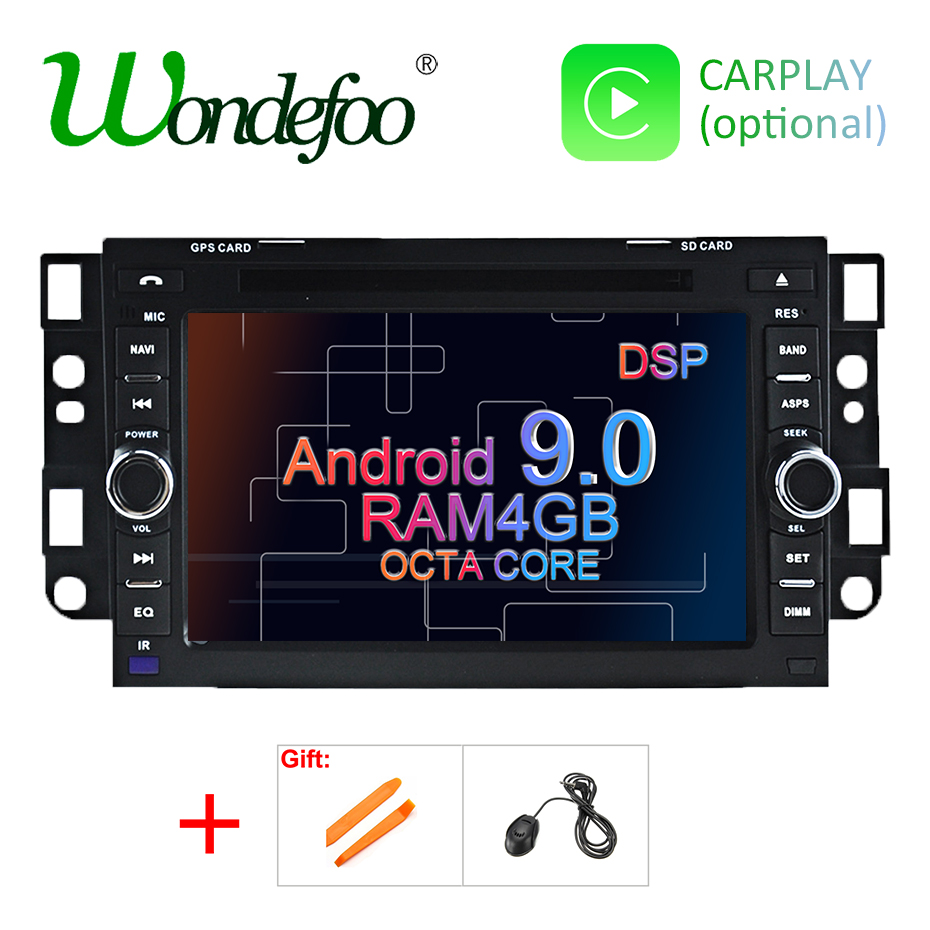 DSP Android 9.0 Car DVD Player For Chevrolet Captiva Aveo Epica Spark Optra Tosca Kalos Matiz Lova GPS Radio Navigation Screen-in Car Multimedia Player from Automobiles & Motorcycles    1