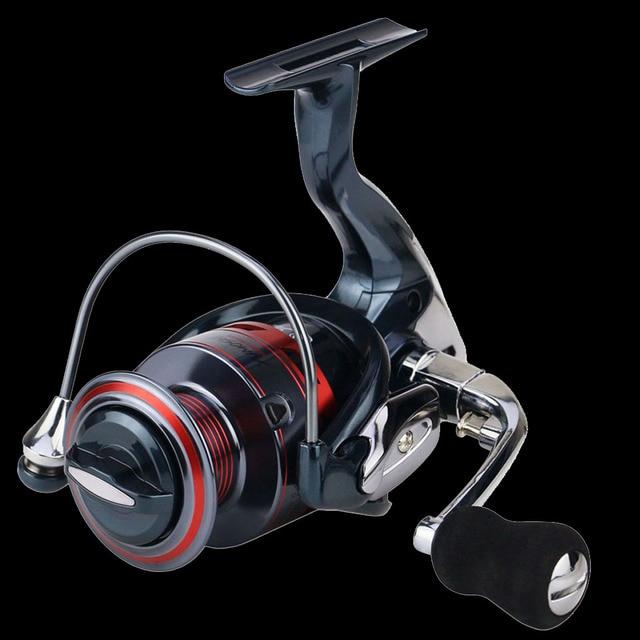 WALK FISH 13+1BB Spinning Fishing Reel Metal XS1000-7000 Series Spinning Reel Fishing Tackle 3
