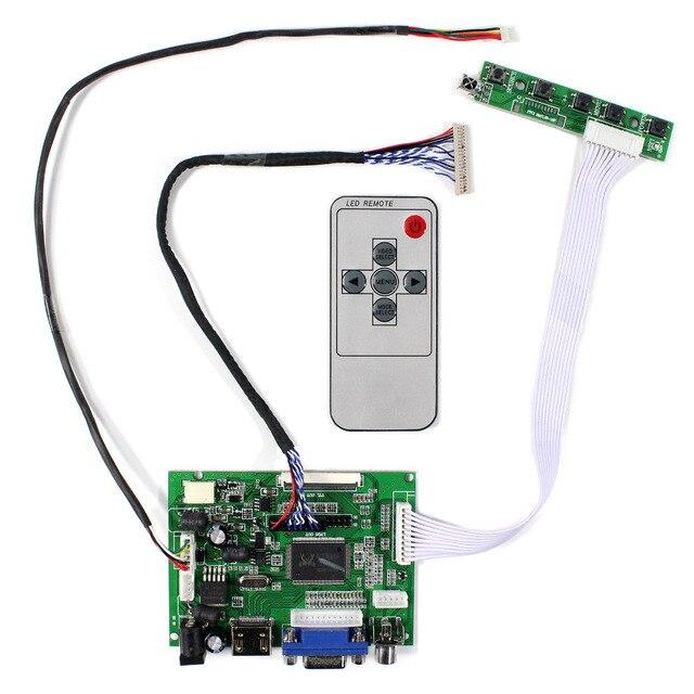 HDMI VGA 2AV LCD Controller board VS TY2662 V1 for 12.1inch LQ121K1LG52 1280x800 LCD Scren