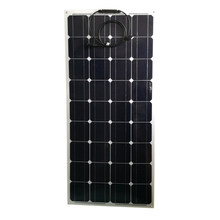 Mono Zonnepaneel Flexibele 100 W 12 V 3 Pcs Placa Solar 300 W Solar Battery Charger Rv Motorhoms Caravan auto Camping Waterdichte Led(China)