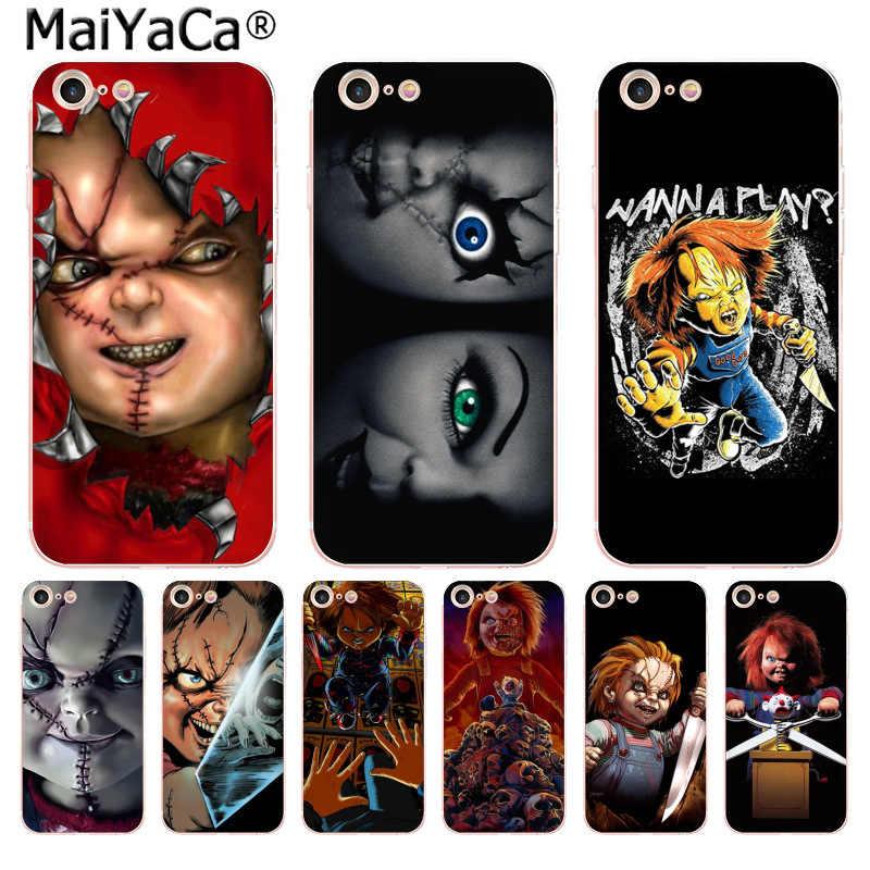Maiyaca Charles Lee Ray Chucky Boneka Baru Fashion Phone Case untuk iPhone 11 Pro 8 7 66S Plus X 10 5S SE XR XS X Max Cover