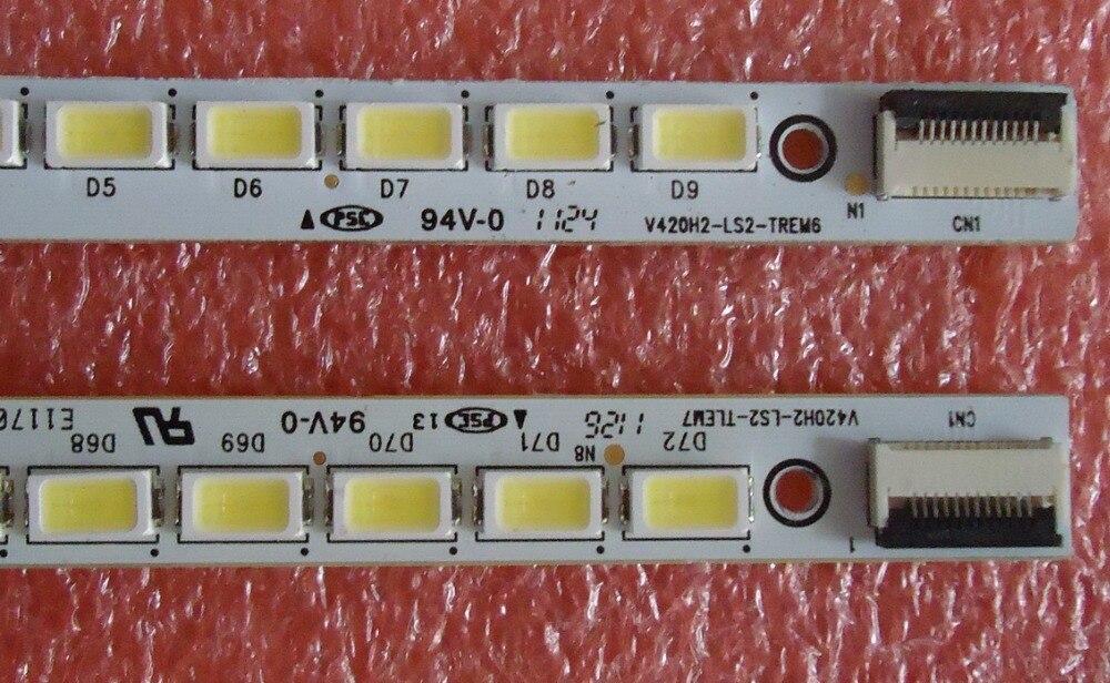 Rétro-éclairage led screenTCL L42E5200BE V420H2-LS2-TLEM7 V420H2-LS2-TREM7 1 pièces = 72led 540mm
