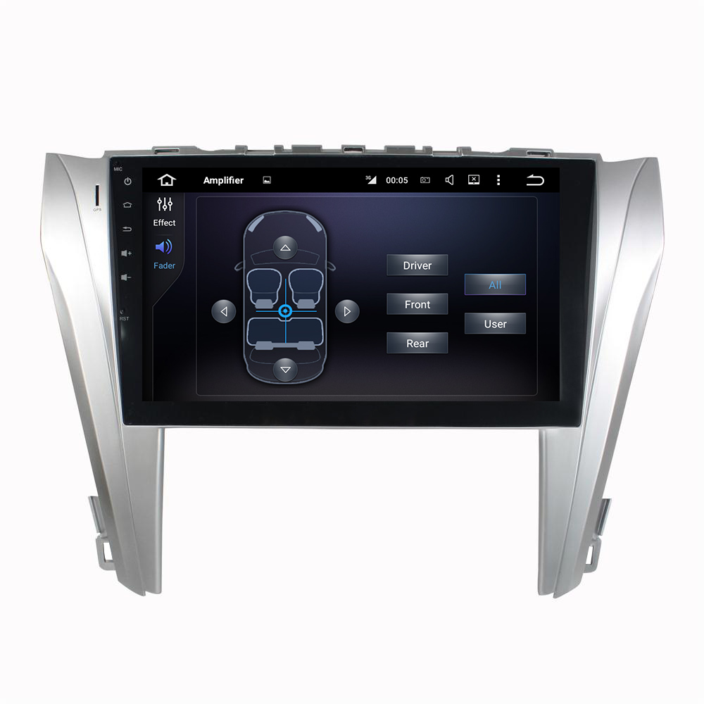 KLYDE 2 Din 10 1 Android 6 0 Car Multimedia Player For Toyota Camry 2014 2016