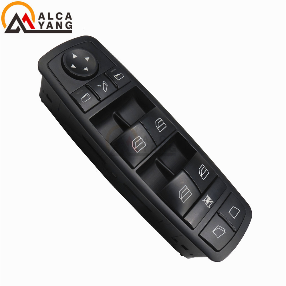 Malcayang Car styling Good Quality Black Window Master Switch For Benz ML350 W251 X164 GL450 R350 No. A2518300390 2518300390