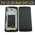 100% testado lcd para lg g4 beat h735 h736 g4s g4 mini display lcd touch screen digitador assembléia com frame
