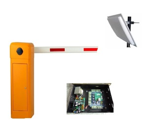Electric Security Barrier Gate for Office Buildings Entrance/Exit Kits With Remote Control And UHF Reader Access Control Board